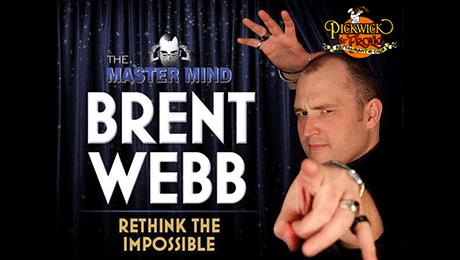 Mentalist Brent Webb